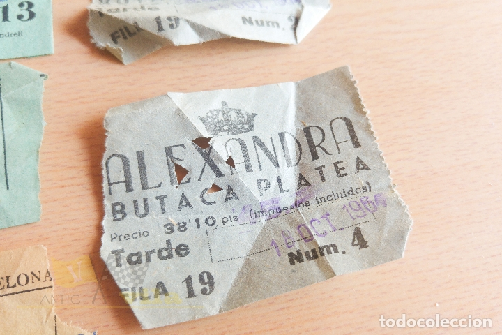 Cine: Entradas Cine Alexandra - Años 60 - Foto 5 - 167184180