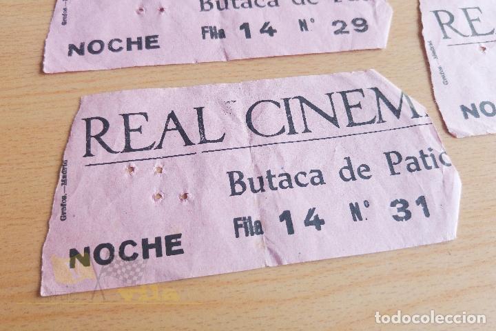 Cine: Entradas Real Cinema - Años 60 - Foto 2 - 167241228