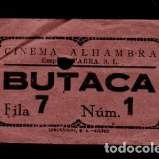 Cine: CL3-44 ANTIGUA ENTRADA DEL CINEMA ALHAMBRA DE BIBAO. Lote 173595647