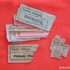 Cine: ENTRADAS CINE TEATRO FORTUNY REUS, LOTE DE 15 ENTRADAS. Lote 175621050
