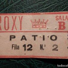 Cinéma: ENTRADA CINE - CINE ROXY - SALA B - AÑOS 50´S -. Lote 175912082