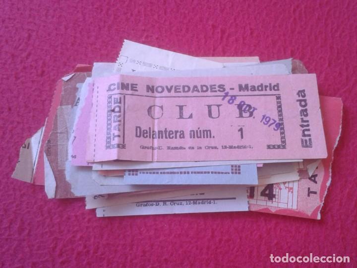 Cine: LOTE DE 18 ANTIGUAS ENTRADAS TICKETS BILLETE ENTRADA TICKET ENTRY ENTRANCE CINES Y TEATROS MADRID... - Foto 5 - 191156760