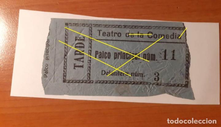 ENTRADA TEATRO DE LAS COMEDIAS. PALCO PRINCIPAL 11 (Cine - Entradas)