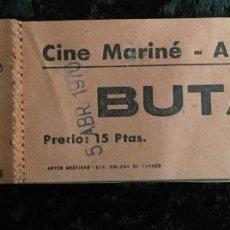 Cine: 66 ENTRADAS CINE MARINÉ - ARBUCIAS - GERONA - 5 ABRIL 1970. Lote 193265248