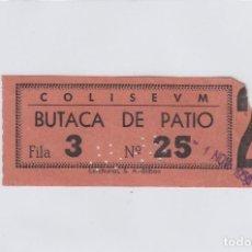 Cinéma: ENTRADA DEL CINE COLISEUM. SANTANDER.. Lote 193574512