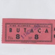 Cinéma: ENTRADA DEL CINE ALAMEDA. SANTANDER.. Lote 193574560