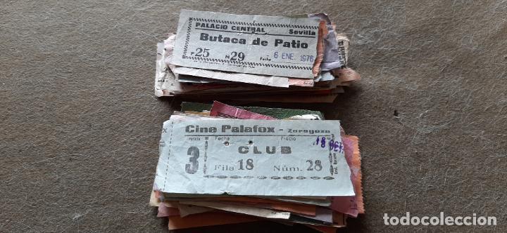 LOTE CON 150 ENTRADAS DE CINE O TEATROS/CINE (Cine - Entradas)