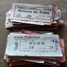 Cine: LOTE CON 150 ENTRADAS DE CINE O TEATROS/CINE. Lote 194366565