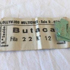 Cine: CINES HOLLYWOOD MULTICINES GIJON TRRS ENTRADAS. Lote 194489981