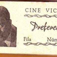 Cine: Nº 2 TACO CON 94 ENTRADAS DE CINE VICTORIA DE ROTA. Lote 202316008