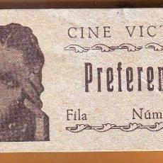 Cine: Nº 3 TACO CON 100 ENTRADAS DEL CINE VICTORIA DE ROTA. Lote 202316952