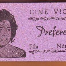 Cine: Nº 9 TACO CON 96 ENTRADAS CINE VICTORIA DE ROTA. Lote 202321550