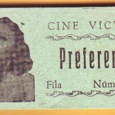 Cine: Nº 13 TACO DE 53 ENTRADAS CINE VICTORIA DE ROTA. Lote 202342858