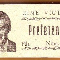 Cine: Nº 14 TACO CON 97 ENTRADAS CINE VICTORIA DE ROTA. Lote 202343652
