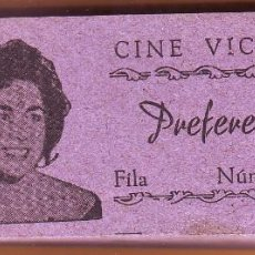 Cine: Nº 15 TACO CON 100 ENTRADAS DE CINE VICTORIA DE ROTA. Lote 202344313