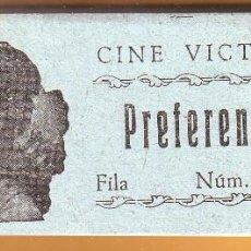 Cine: Nº 18 TACO CON 86 ENTRADAS DE CINE VICTORIA DE ROTA. Lote 202346645