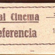 Cine: Nº 22 TACO CON 98 ENTRADAS ROYAL CINEMA DE ROTA. Lote 202357646