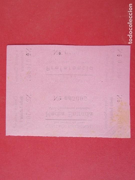 Cine: 2 ENTRADAS CINE CAPITOL - TONA - BARCELONA - AÑOS 40, SIN CORTAR.. L1175 - Foto 2 - 205789018