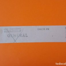 Cine: ENTRADA CINE TARRAGONA - EMPRESA BRETONS - AÑOS 40... L1182. Lote 206331388