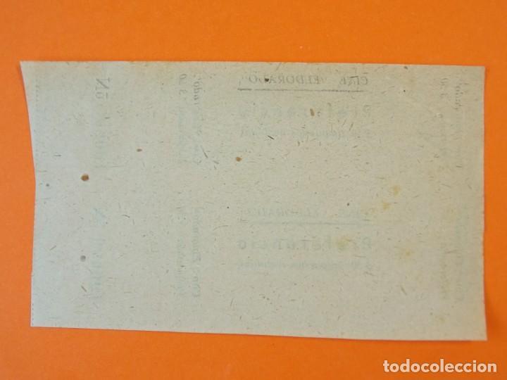 Cine: 2 ENTRADAS EL DORADO - BARCELONA - AÑOS 40 - L1198 - Foto 2 - 206855288