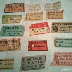 Cine: LOTE DE 15 ENTRADAS DE CINE. Lote 211497917
