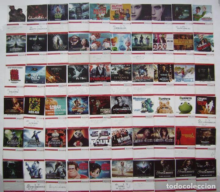 60 ENTRADAS DE LOS CINES ARAGONIA. (Cine - Entradas)
