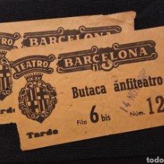 Cinéma: 2 ENTRADAS PARA NINETTE Y UN SEÑOR DE MÚRCIA PROYECCIÓN EN EL TEATRO PRINCIPAL DE BARCELONA AÑO 1965. Lote 220126597