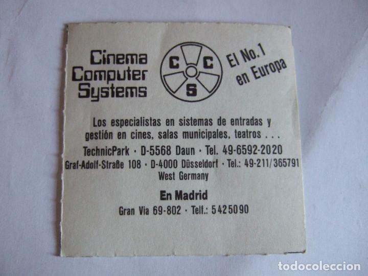 Cine: ENTRADA CINES GOLEM PAMPLONA - 1990 - PELICULA CUANDO HARRY ENCONTRO A SALLY - Foto 2 - 220136482