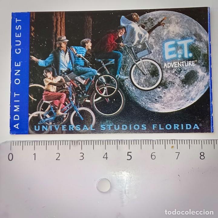 INVITACIÓN ENTRADA A UNIVERSAL STUDIOS FLORIDA PELÍCULA E.T (Cine - Entradas)