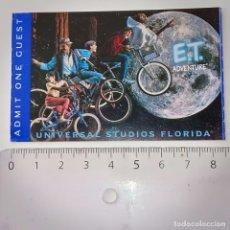 Cine: INVITACIÓN ENTRADA A UNIVERSAL STUDIOS FLORIDA PELÍCULA E.T. Lote 223129898