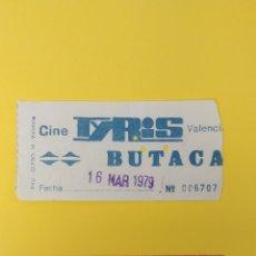 Cine: 2 ENTRADAS DE CINE DE VALENCIA. AÑO 1979. Lote 223482603
