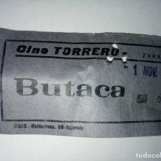 Cine: ENTRADA CINE TORRERO ZARAGOZA AÑO 1973. Lote 243138790