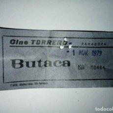 Cine: ENTRADA CINE TORRERO ZARAGOZA AÑO 1973. Lote 243139665