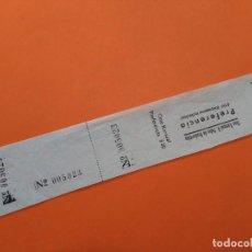 Cine: ENTRADA CINE KURSAAL - SAN PEDRO DE RIUDEVITLLES ( BARCELONA) - AÑOS 40 ...L3592. Lote 247953170