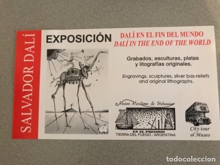 ARGENTINA-ENTRADA EXPOSICIÓN DALI (Cine - Entradas)