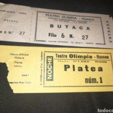 Cine: TEATRO OLIMPIA, HUESCA, ENTRADAS.. Lote 261305445