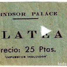 Cine: ENTRADA WINDSOR PALACE DE BARCELONA - 73X47 MM.. Lote 262731040