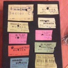 Cinéma: LOTE DE 12 ENTRADAS DE TEATROS Y CINES DE BARCELONA. AÑOS 60 - 70. Lote 264743154