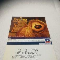 Cine: ENTRADAS DE CINE KINEPOLIS. Lote 268965039