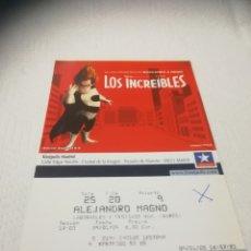 Cine: ENTRADAS DE CINE KINEPOLIS. Lote 268967684
