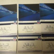 Cine: EMTRADAS DE CINE KINEPOLIS 6. Lote 268986704