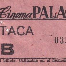 Cinéma: ENTRADA DE CINE CINEMA PALACE. 1964. Lote 270924353