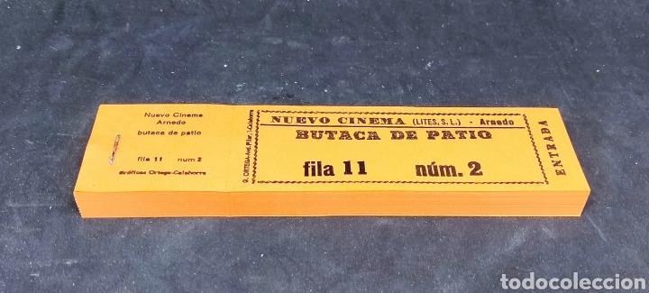 LOTE 6 TACOS ENTRADAS - NUEVOS - NUEVO CINEMA - ARNEDO - LA RIOJA - BUTACA D PATIO - CAR210 (Cine - Entradas)