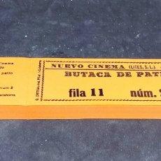 Cine: LOTE 6 TACOS ENTRADAS - NUEVOS - NUEVO CINEMA - ARNEDO - LA RIOJA - BUTACA D PATIO - CAR210. Lote 276668398