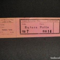 Cine: ENTRADA AL CINE ESCUELAS PIAS DE ZARAGOZA. Lote 276963093