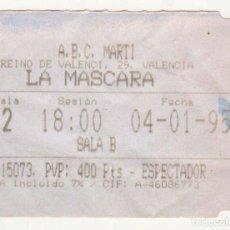 Cine: LA MÁSCARA - AÑO 1995. Lote 286874078