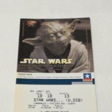Cine: ENTRADA DE STAR WARS. Lote 287349698