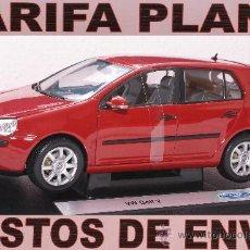 Coches a escala: VW GOLF V ESCALA 1:18 DE WELLY EN SU CAJA. Lote 27622716