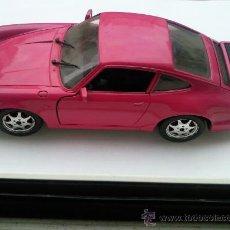 Coches a escala: GUILOY PORSCHE 911 CARRERA 4 ROSA MUY RARO COLECCION NUMERADA. Lote 26555496