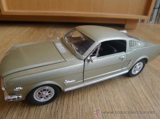 Coches a escala: Ford mustag 1965 a escala como nuevo . - Foto 2 - 31115073